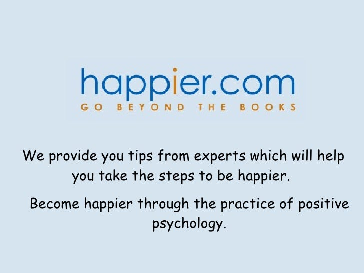 Find True Happiness with Happier.com