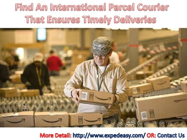Find an international parcel courier that ensures timely