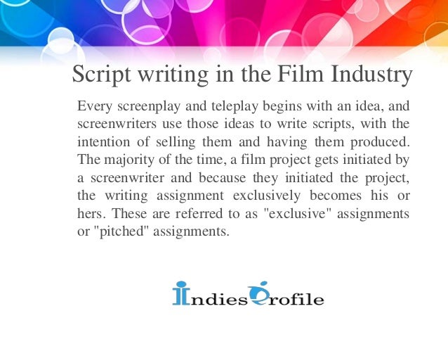 script writing career Freelance writing jobs online, writing jobs from home here you can write for money and get paid sign up for free if you need article writing jobs.