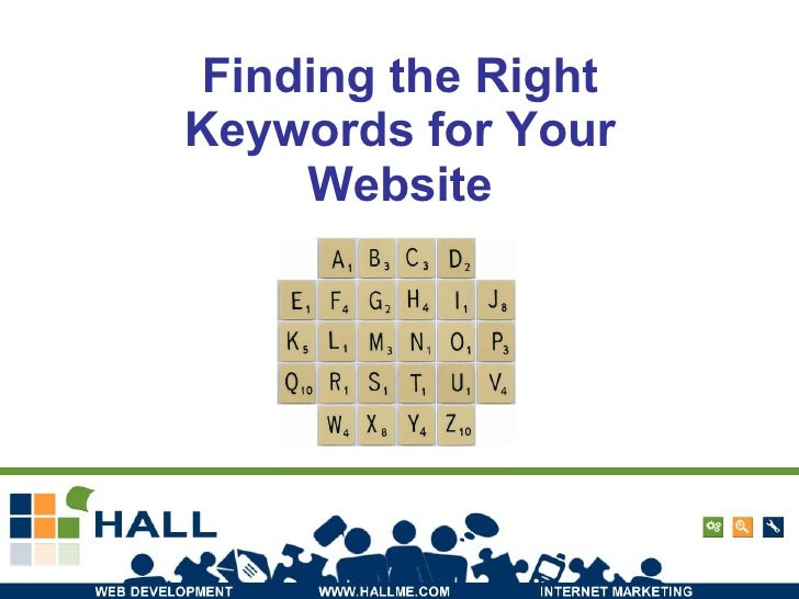 Finding the Right Keywords for Your Website