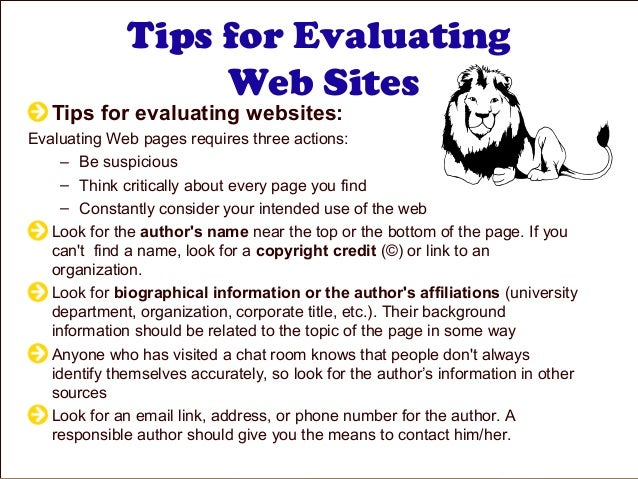 evaluating website credibility essay Wolfec evaluating website nr500 essay evaluating a website for credibility charles b wolfe chamberlain college of nursing evaluating a website for credibility a.