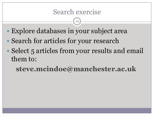 Electronic journal article