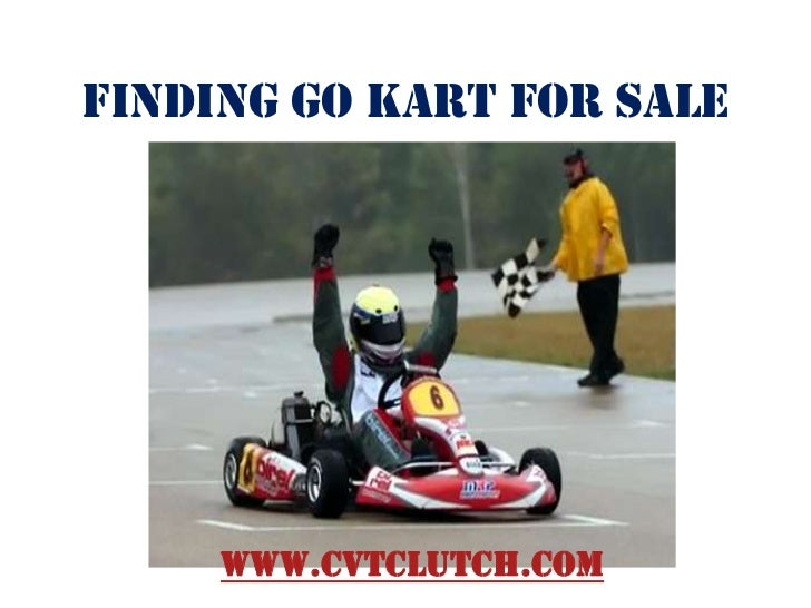 Finding go kart for sale