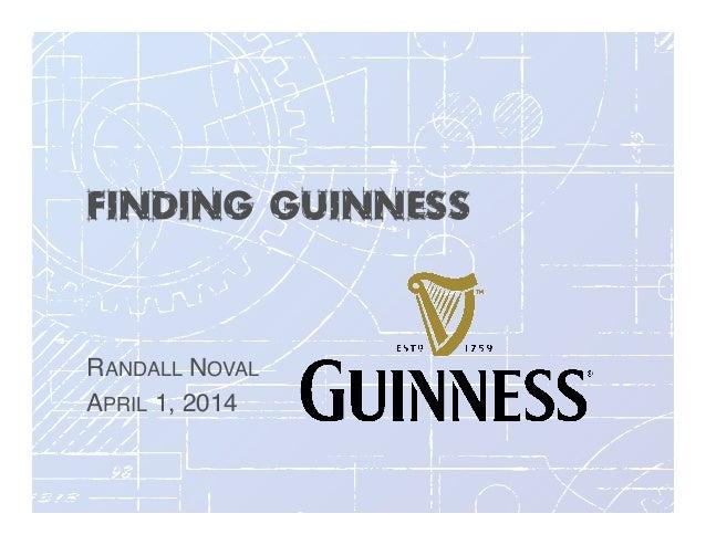 Finding Guinness