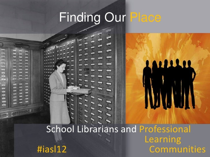 Finding our place   iasl12