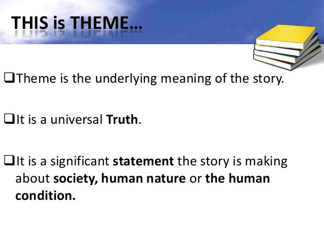 the main theme of the story A summary of themes in kate chopin's the story of an hour learn exactly what happened in this chapter, scene, or section of the story of an hour and what it means.