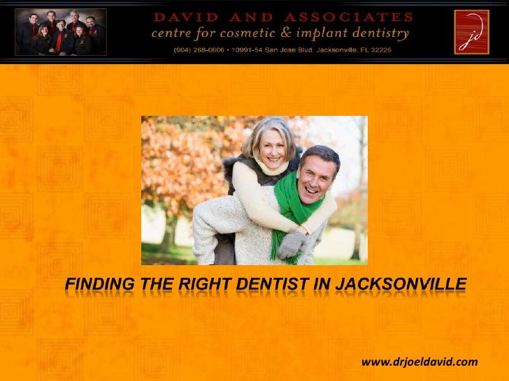 Finding The Right Dentist in Jacksonville