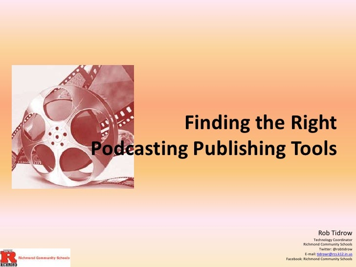 Finding the right podcasting tools