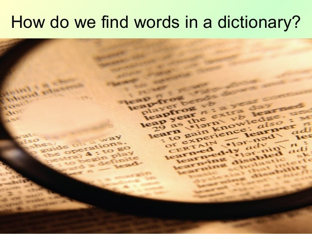 Finding words ina_dictionary