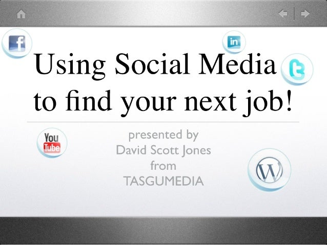 Finding Work with Social Media