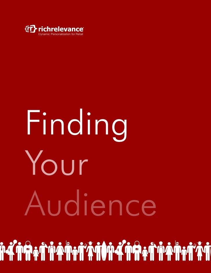 Dynamic Personalization for RetailFindingYourAudience