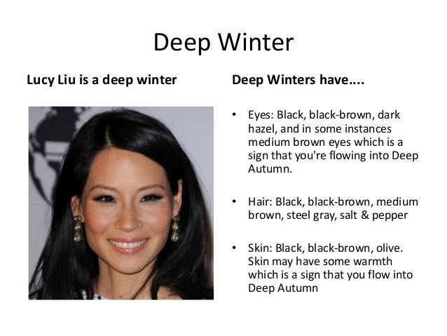 deep winter lucy liu is a deep winter deep winters