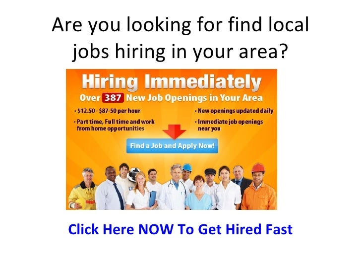 Find local jobs in your area