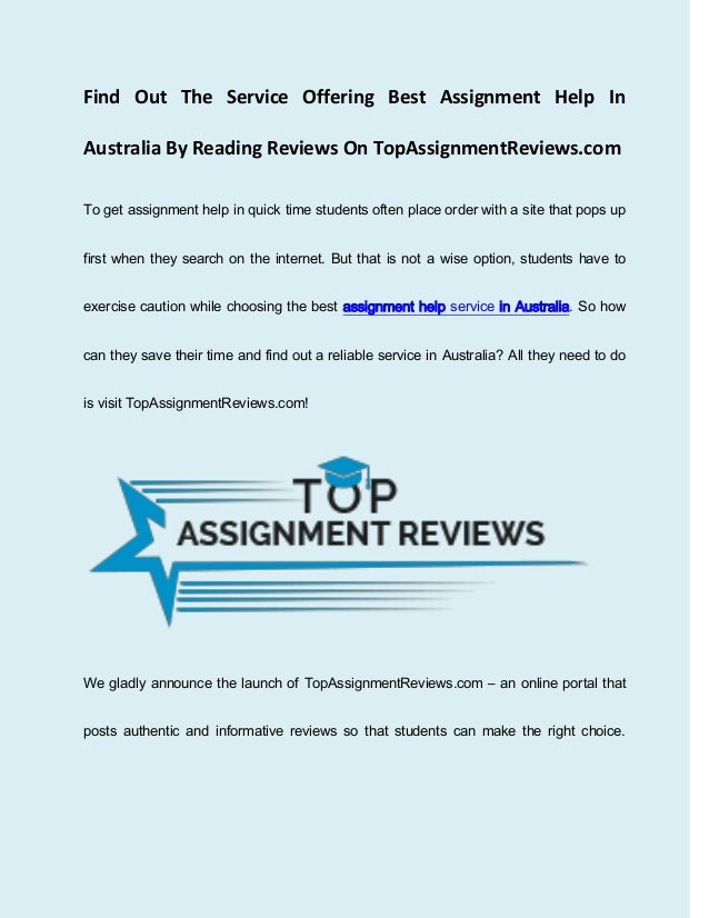 my assignment help australia review