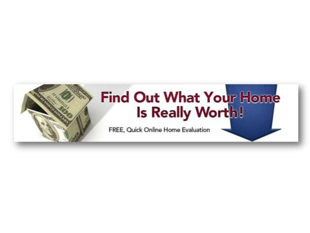 FREE Quick Online Home Evaluation