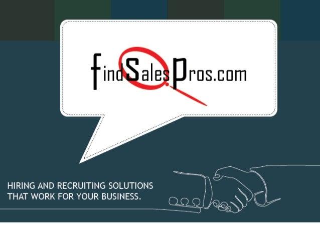 FindSalesPros Presentation