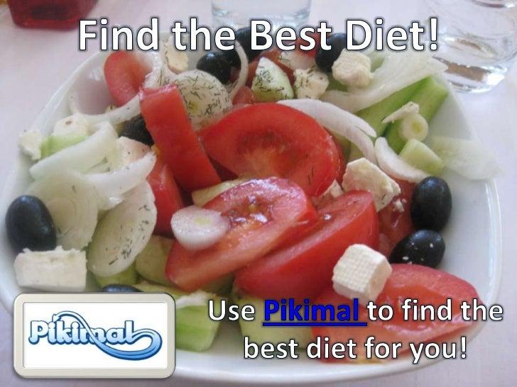 Find the Best Diet