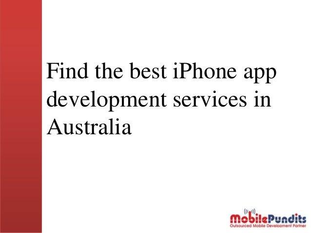 Find the best iPhone app development services in Australia