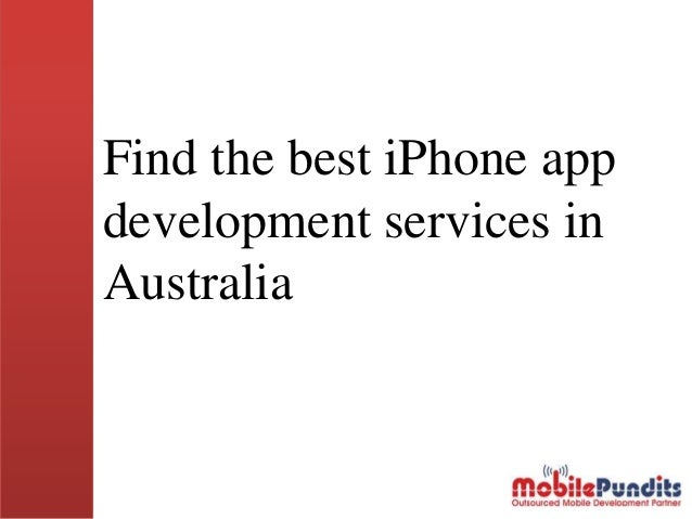 Find The Best iPhone App Development Services in Australia