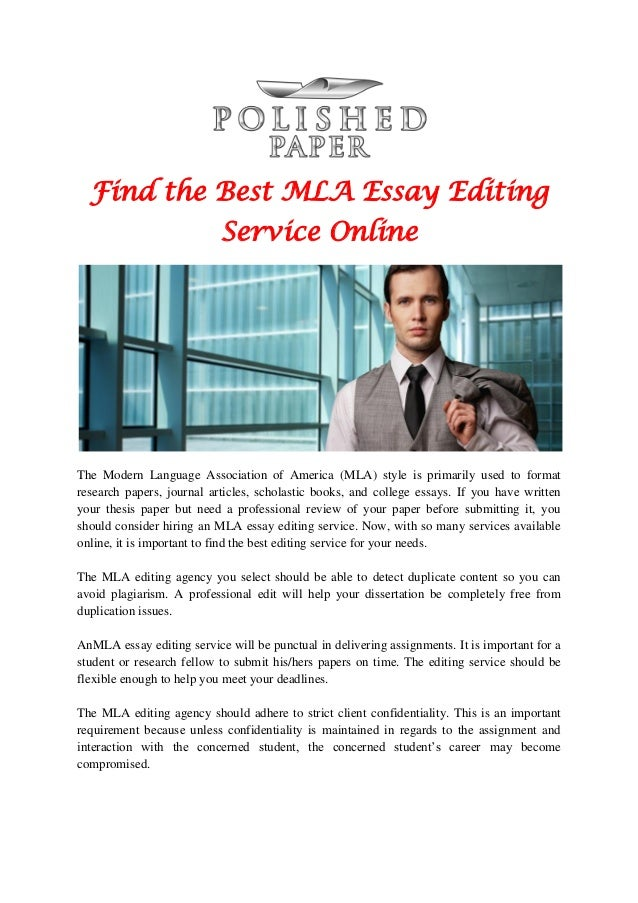 Term paper editing services