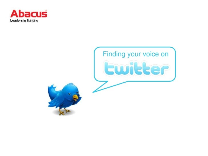 Find Your Voice on Twitter: Kelly Herrick:  Abacus Lighting