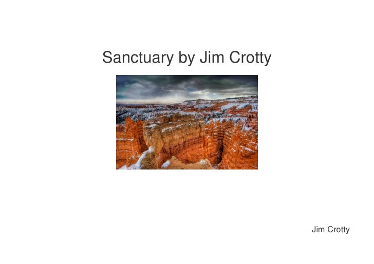 Sanctuary by Jim Crotty                               Jim Crotty