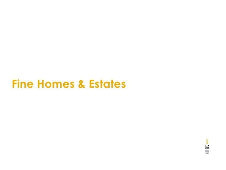 Boston Real Estate - Fine Homes & Estates Presentation