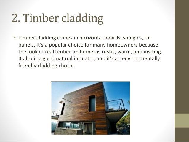 7 Types Of Cladding