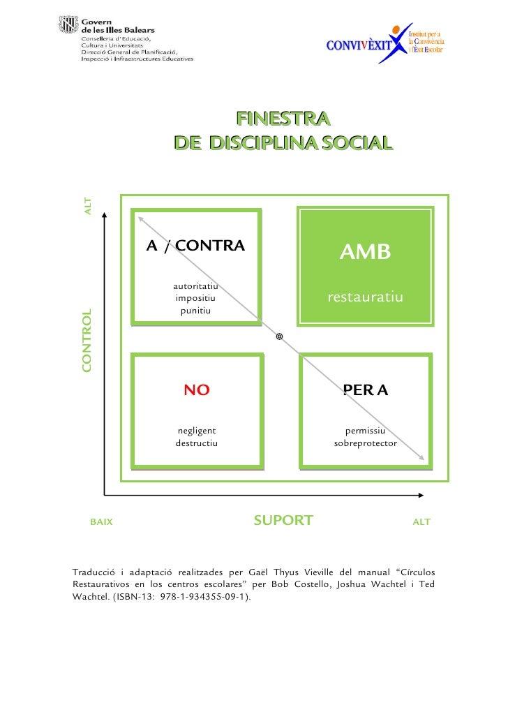FINESTRA                     DE DISCIPLINA SOCIAL  ALT               A / CONTRA                                           ...