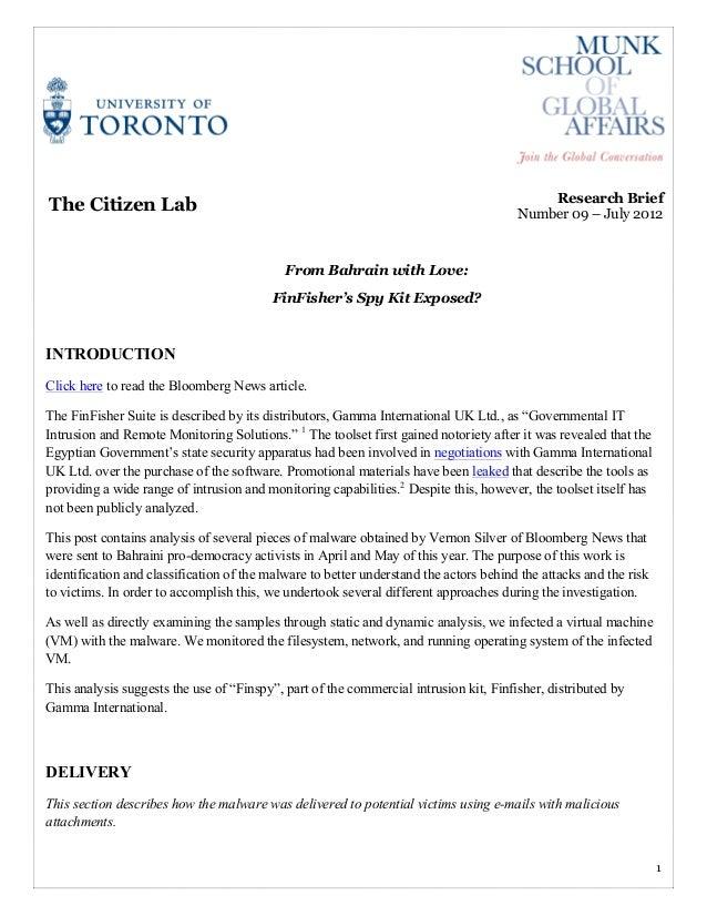 !!!!!                                                                                           Research Brief    The Citi...