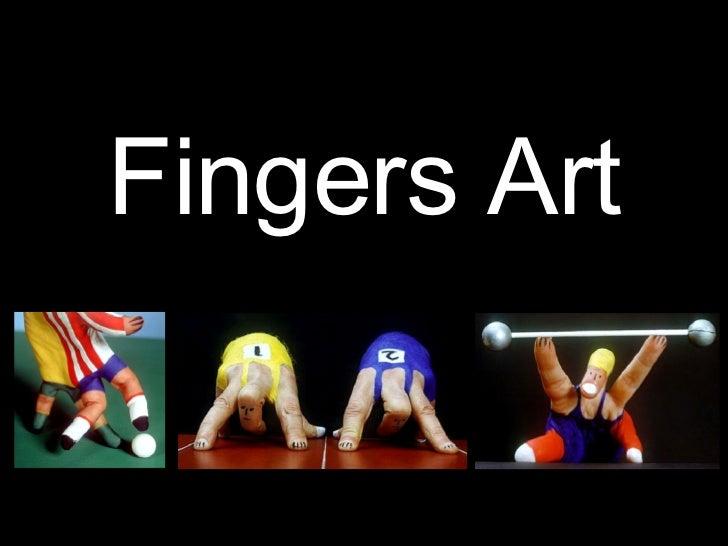מצגת אצבעות