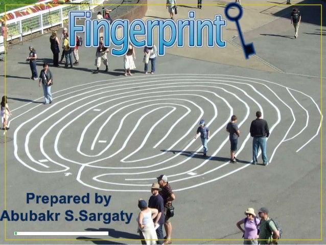 Finger print