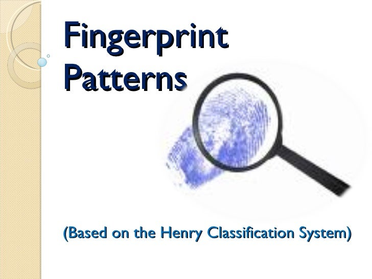 Fingerprint Pattern