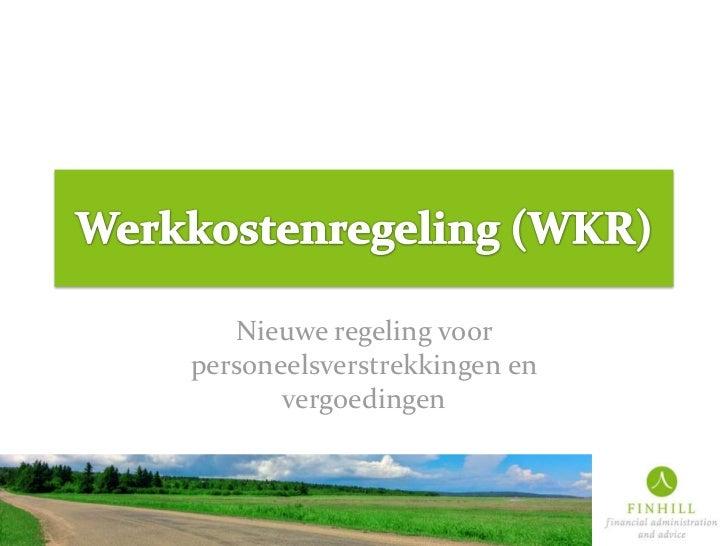 FINHILL werkkostenregeling (WKR)