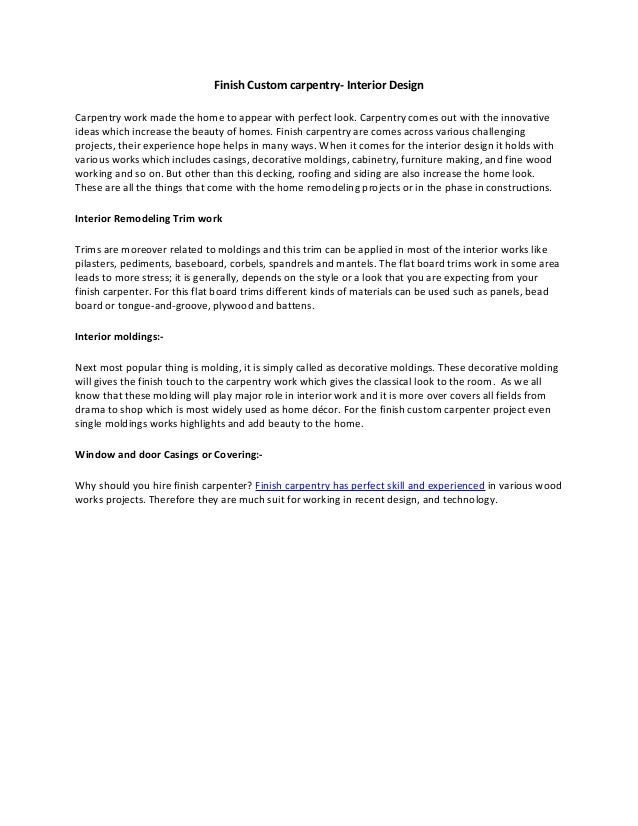 Carpentry Cover Letter Sample Construction Cover Letter Cover