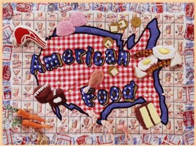 American Food • Local Michigan and Nebraska specialties • Family traditions of Loni and Sarah • U.S. Regional foods (East,...