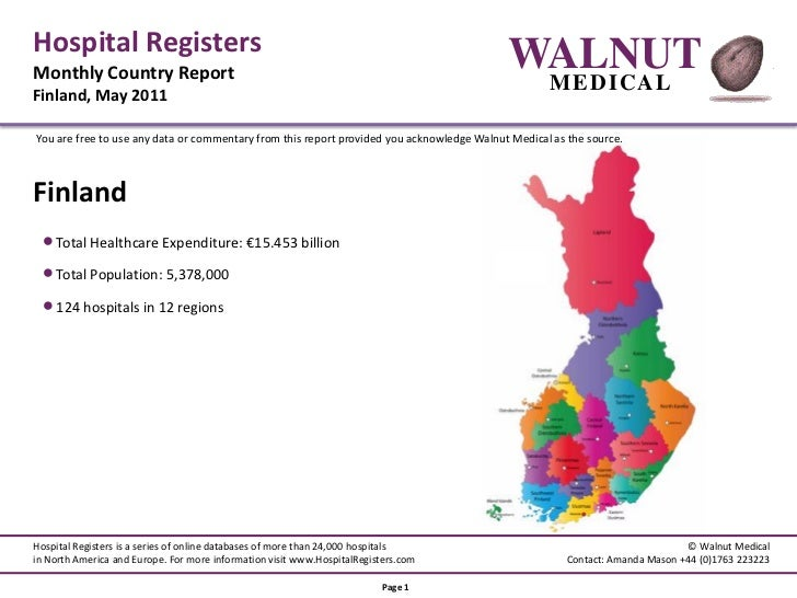 Hospital RegistersMonthly Country Report                                                                                  ...