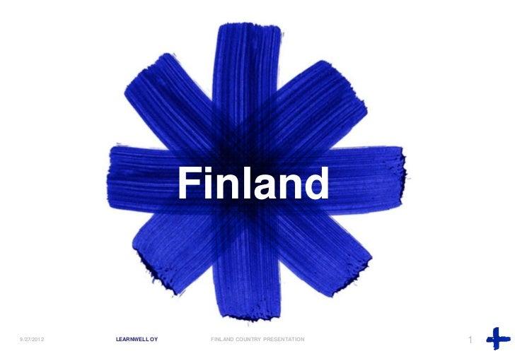 Finland country presentation