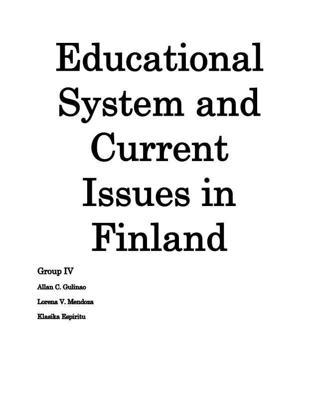 Finland Educational System
