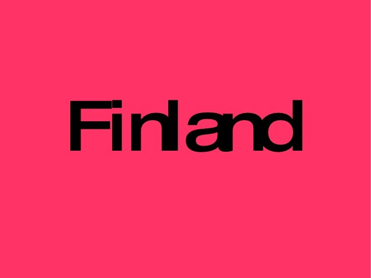 Finland by Paola