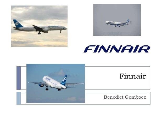 Finnair Benedict Gombocz