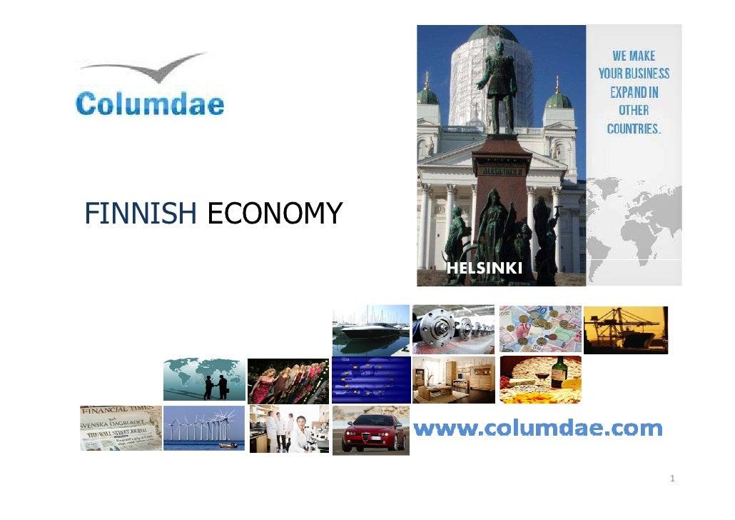FINNISH ECONOMY                  HELSINKI                             1