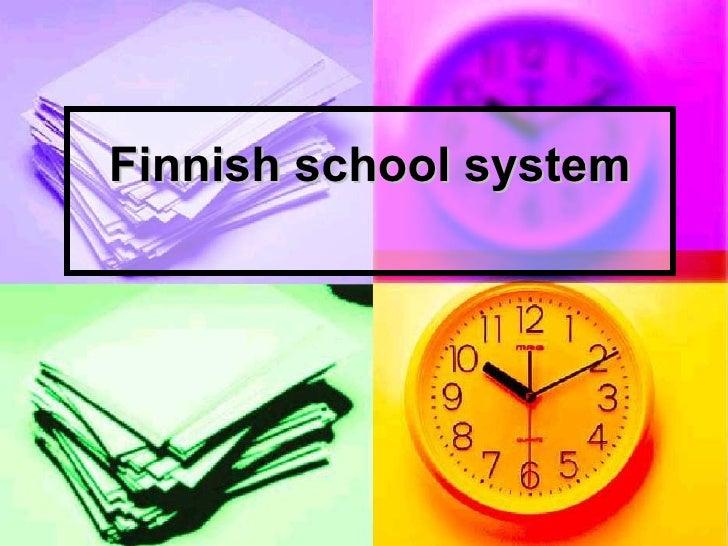 Finnish school system