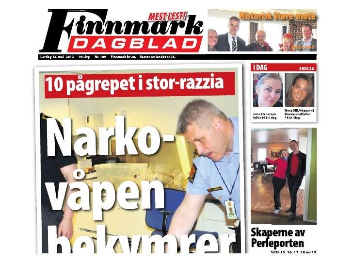 Finnmark dagblad 12mai2012
