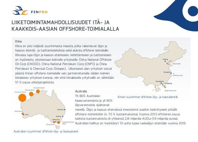 LIIKETOIMINTAMAHDOLLISUUDET ITÄ- JA KAAKKOIS-AASIAN OFFSHORE-TOIMIALALLA Kiina Kiina on yksi neljästä suurimmasta maasta, ...