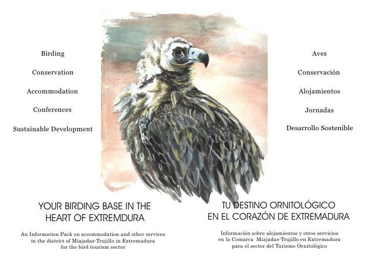 Alojamientos de Turismo  Ornitologico