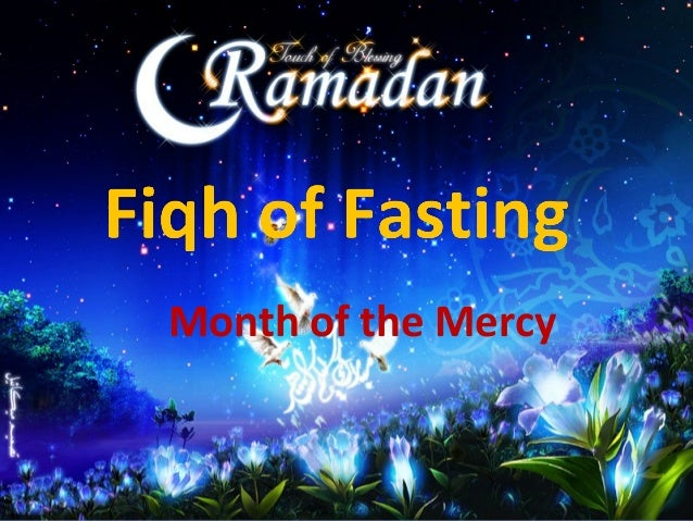 Fiqh of fasting june 2013