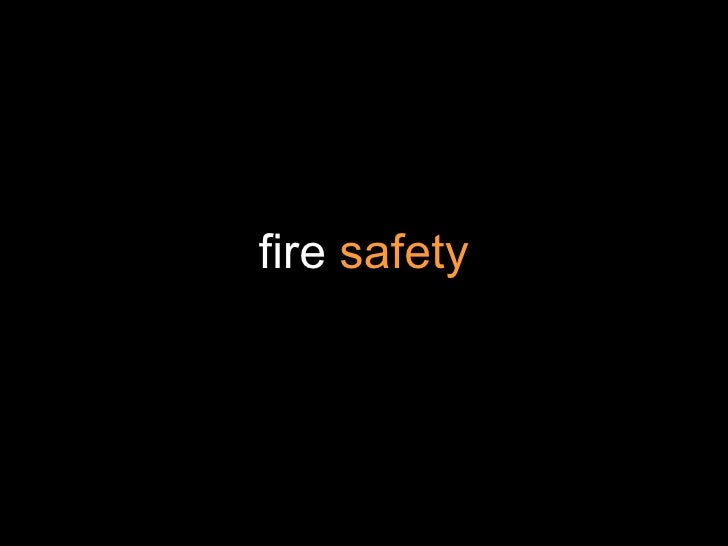 Fire Safety Training (Updated)