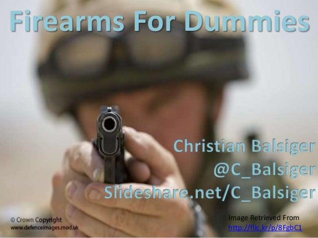 Firearms for dummies