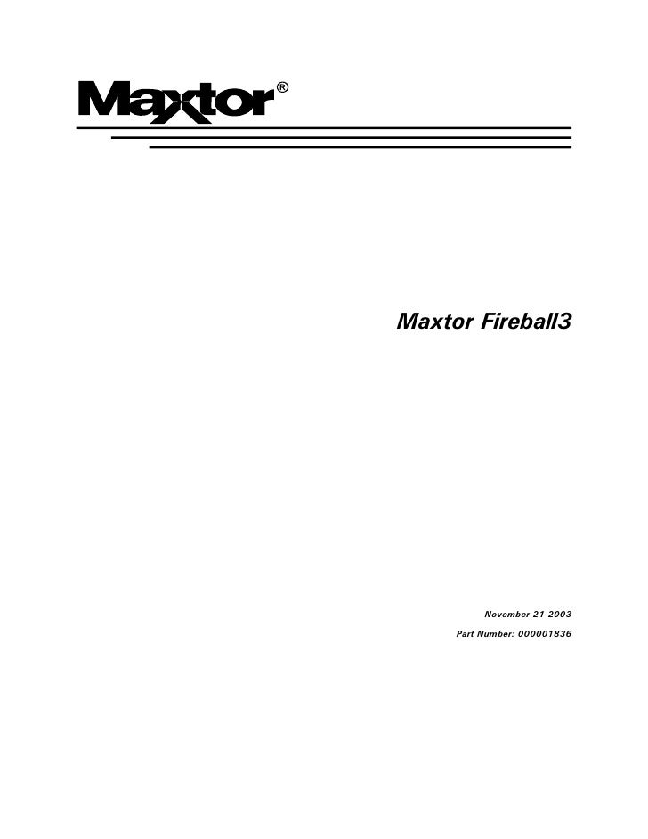 Fireball 3 manual